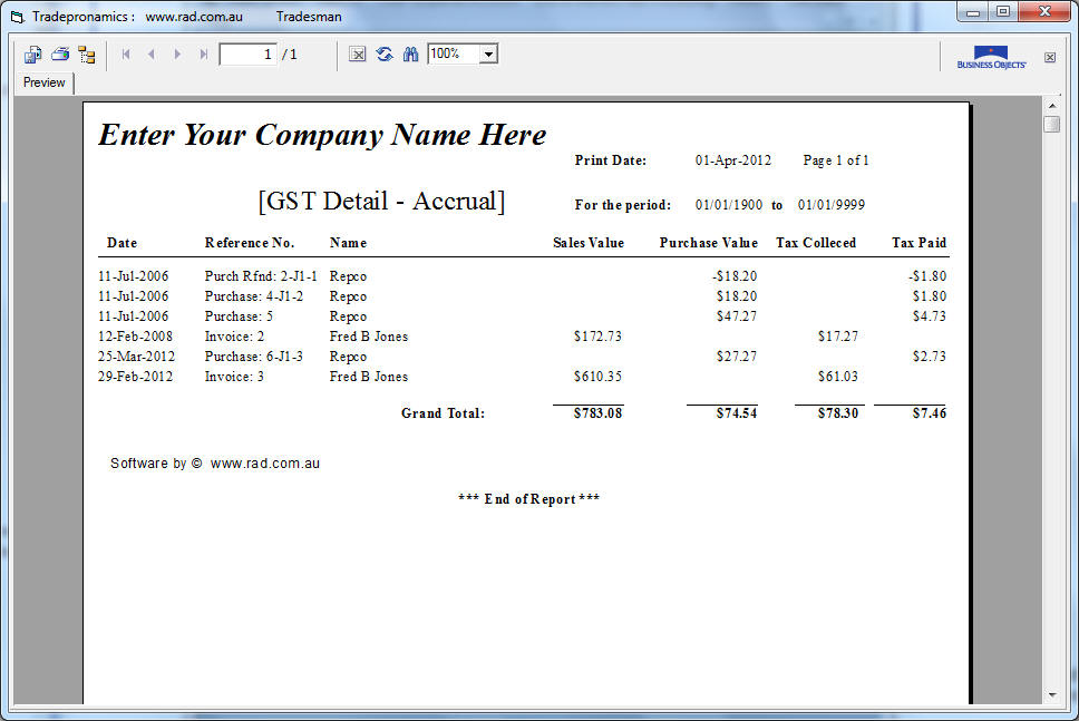 tradesmen software  builders software  invoicing software  pos software  myob  point of sale