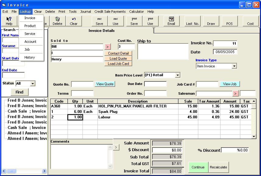 Free Invoice Software, Free Quote Software, Free Invoicing ...