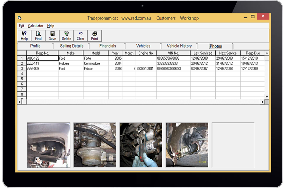 Mechanic Workshop Software Automotive Management Software